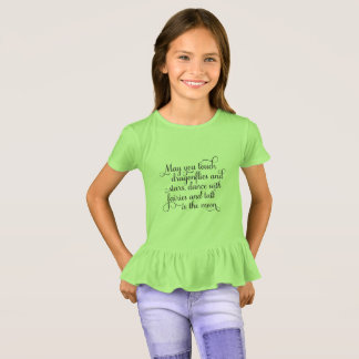 May you dance with fairies, Irish Blessing T-Shirt