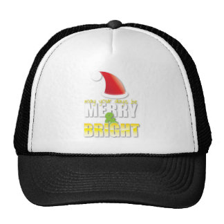 May your days be MERRY and BRIGHT! Cap
