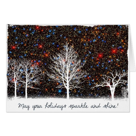 May Your Holidays Sparkle and Shine - Hubble