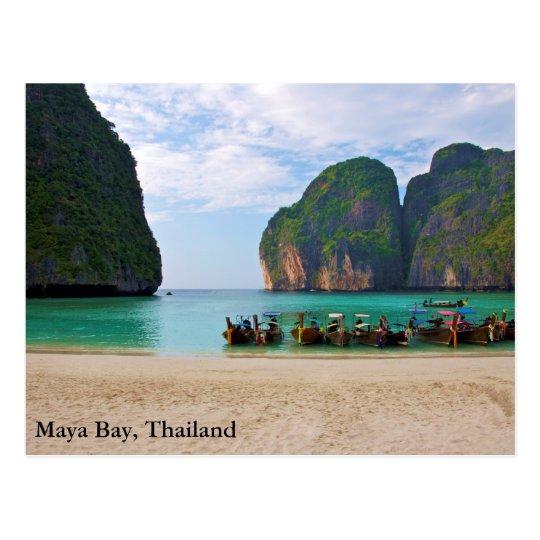 Maya Bay, Thailand Postcard
