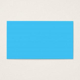 Maya Blue Business Card
