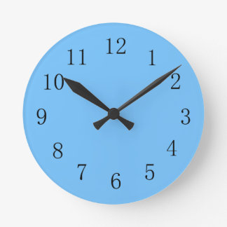 Maya Blue Kitchen Wall Clock