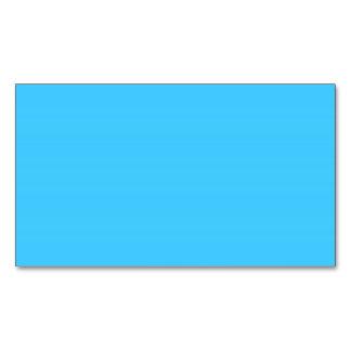 Maya Blue Magnetic Business Card