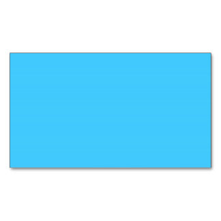 Maya Blue Magnetic Business Cards