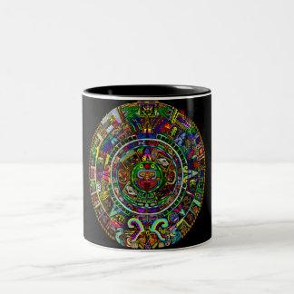 Maya Calendar by Myztico Coffee Mug