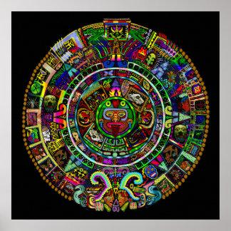 Maya Calendar by Myztico Posters