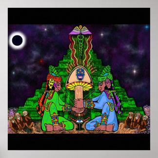 Maya Myztic Moon Print