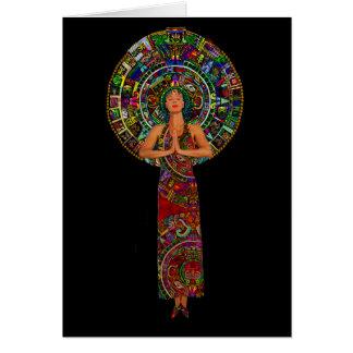 Maya Priestess Card