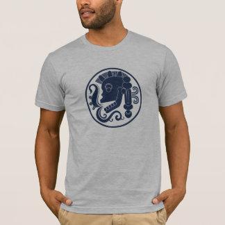 maya skull from chichen itza ball court T-Shirt