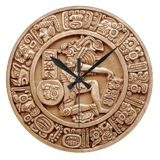 Mayan Agricultural Calendar Large Clock