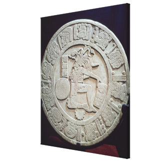Mayan ball court marker, from Chinkultic Canvas Print