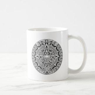 Mayan Calendar 12.21.2012 Aztec Basic White Mug