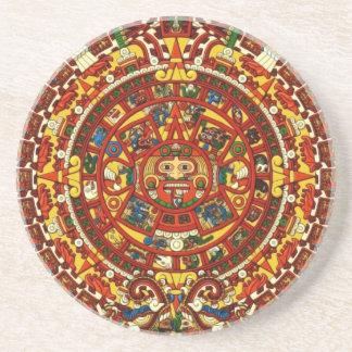 mayan calendar coaster