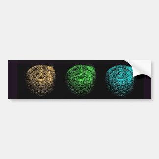 Mayan Calendar Collage Bumper Stickers