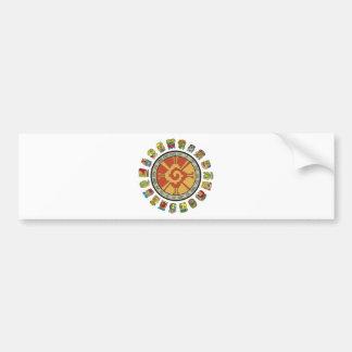 Mayan Calendar Design Bumper Sticker