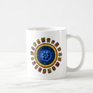 Mayan calendar design coffee mugs