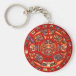 Mayan calendar key chain
