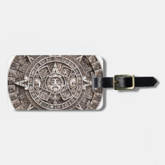 Mayan Calendar Luggage Tag