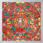 Mayan Calendar Print