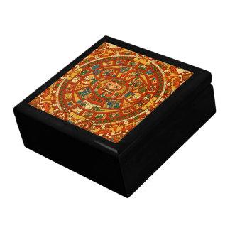 'Mayan Calendar Stone' Gift Box