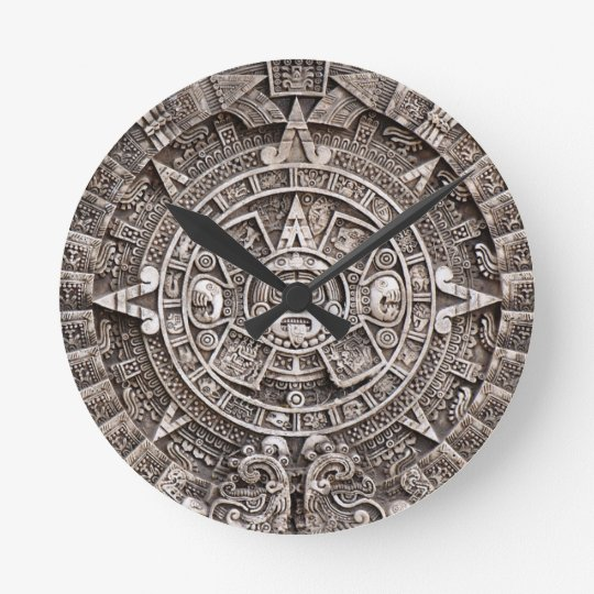 Mayan Calendar Wallclocks