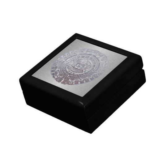 Mayan Calender Small Square Gift Box