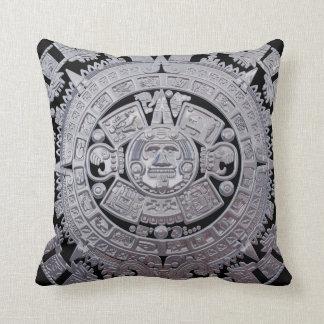 Mayan Calender Throw Pillow