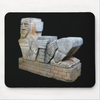 Mayan Chacmool Statue Mouse Pad