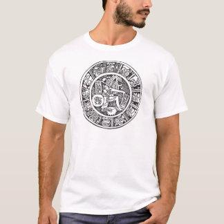 Mayan circle, Mexican hieroglyph(Maya) T-Shirt