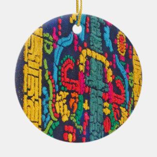 Mayan Design Ornament 1