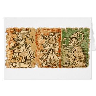 Mayan Dresden codex Card