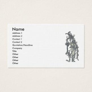 Mayan Dress Business Card