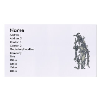 Mayan Dress Pack Of Standard Business Cards