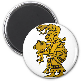 Mayan God of the North Star Magnet