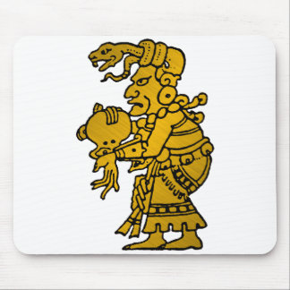 Mayan God of the North Star Mouse Pad