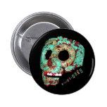 Mayan Mask-2012 6 Cm Round Badge