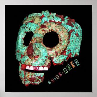 Mayan Mask-2012 Posters