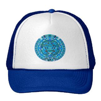 Mayan Maya Aztec Doomsday Symbol ~ Hat