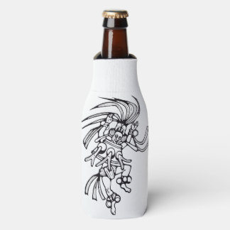 Mayan octopus dancer - Amazing MexicoBottle cooler