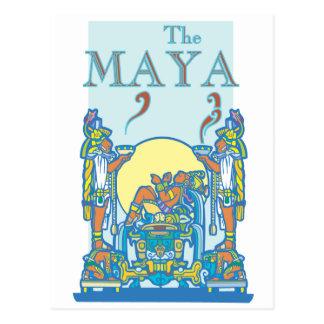 Mayan Poster 3 Post Cards
