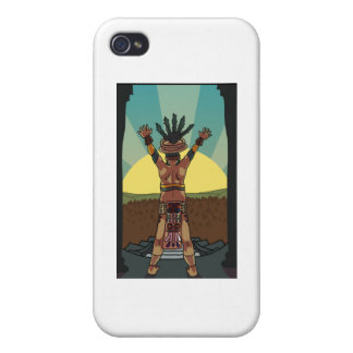 mayan priest iPhone 4 covers
