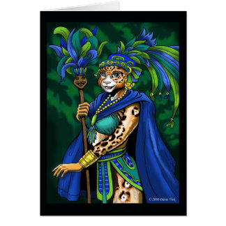 Mayan Priestess Greeting Card