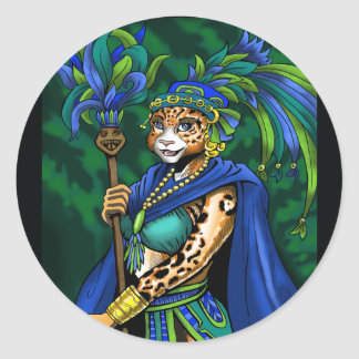 Mayan Priestess Sticker