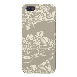 Mayan priests and Vision Serpent iPhone 5/5S Cases
