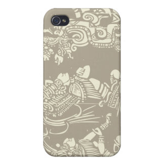 Mayan priests and Vision Serpent Covers For iPhone 4