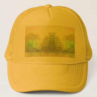 Mayan Pyramid, Mexico Hat