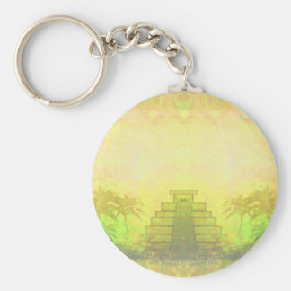 Mayan Pyramid, Mexico Key ring