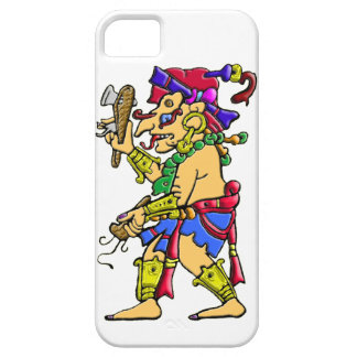 Mayan rain god Chac Case For The iPhone 5