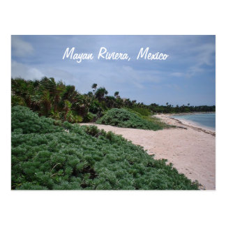 Mayan Riveria, Mexico Postcard