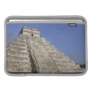 Mayan ruins at Chichen Itza, Kukulcans Pyramid Sleeve For MacBook Air